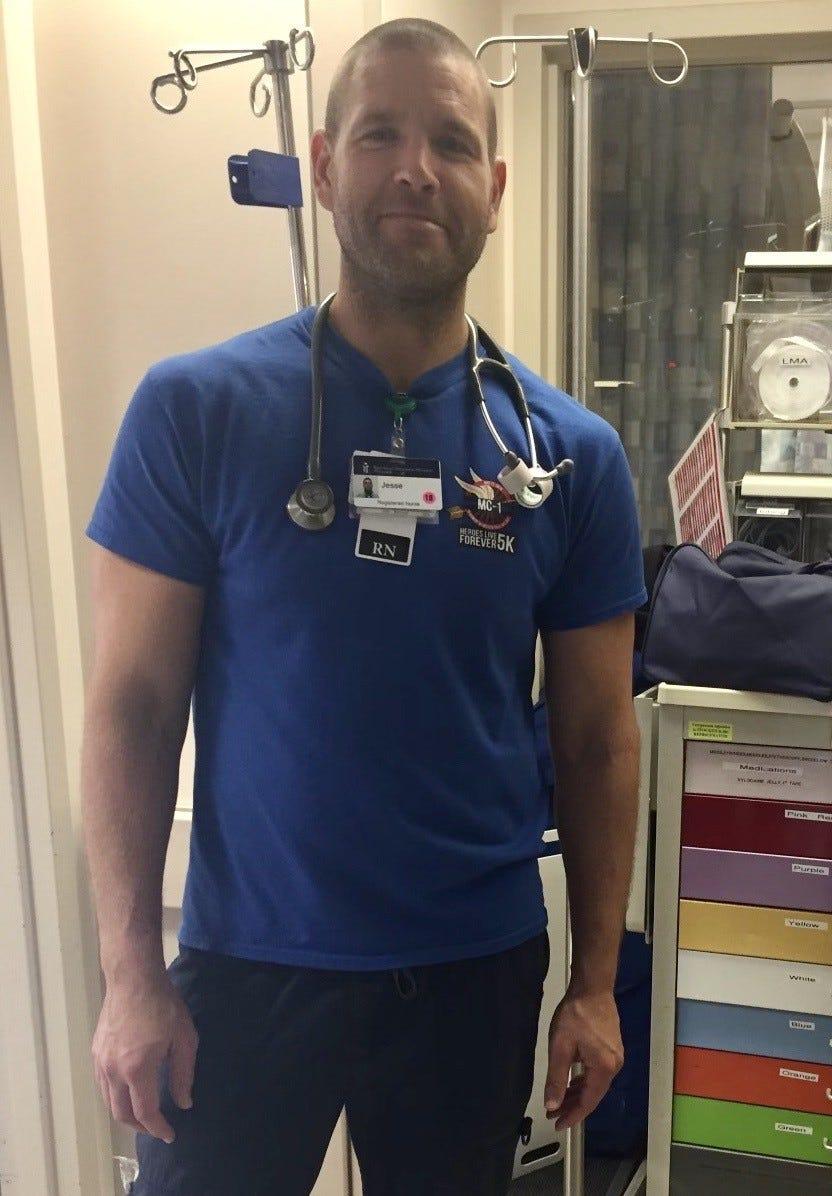 Nurse Jesse Telford wants better safeguards.