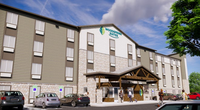 A WoodSpring Suites extended-stay hotel is being proposed for the southeast corner of West Bradley Road and North 124th Street.