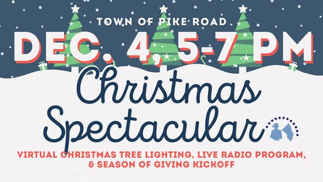 Pike Road's virtual Christmas Spectacular is Friday.
