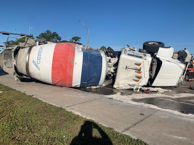 A Naples man was seriously injured in a head-on crash between a dump truck and a cement truck at the intersection of Oil Well Road and Victory Lane on Dec. 2, 2020.