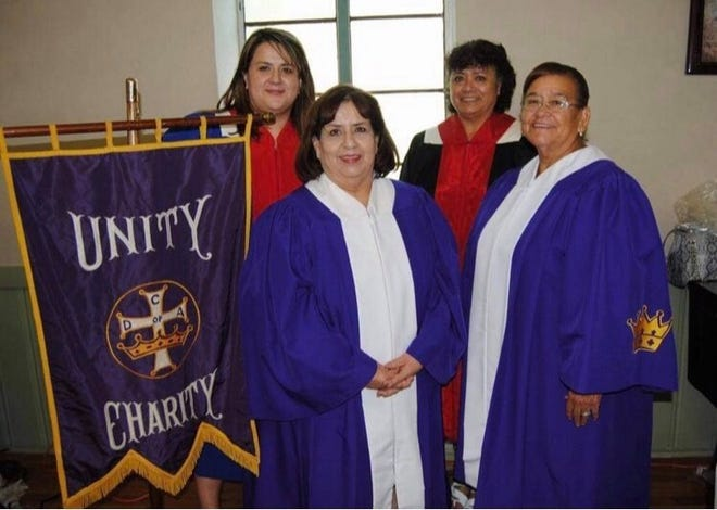 Vivana Ornelas (far right) was an active member in her church and many local charities and organizations. She is pictured with fellow church members in 2016.