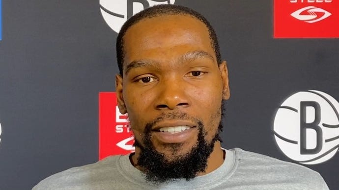 Kevin Durant Looking To Return From Achilles Injury Lead Brooklyn Nets