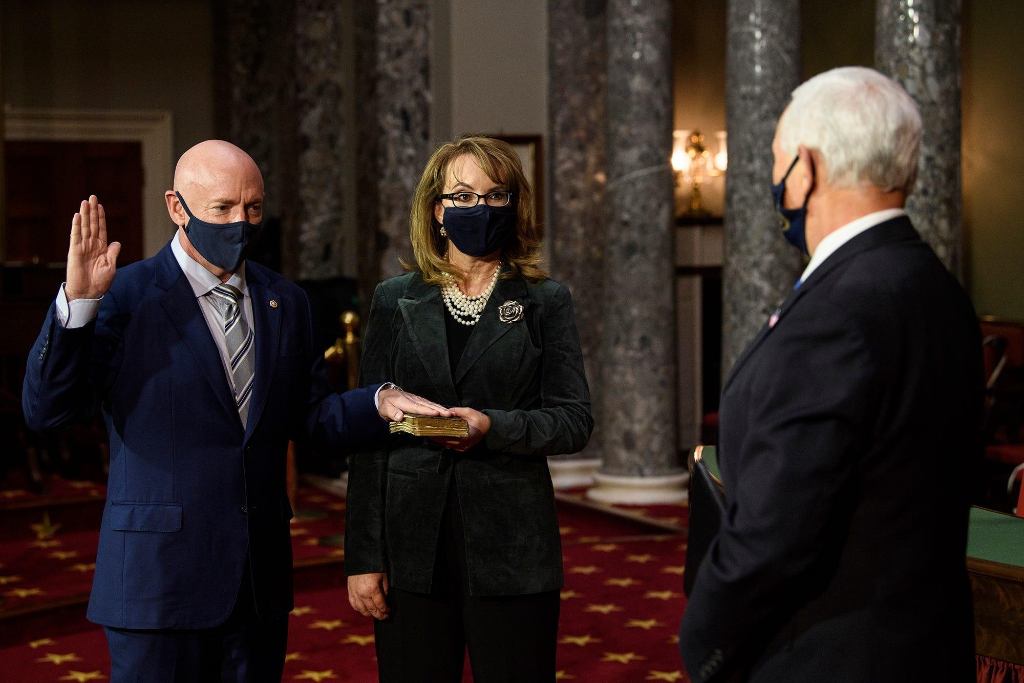 2 Dems in Senate: Kelly defeats McSally