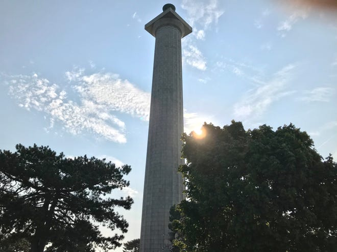 Barbara Rowles, superintendent of Perry's Victory and International Peace Memorial, said the harsh marine environment has deteriorated and undermined the two seawalls, which has resulted in unsafe conditions at the memorial's park.