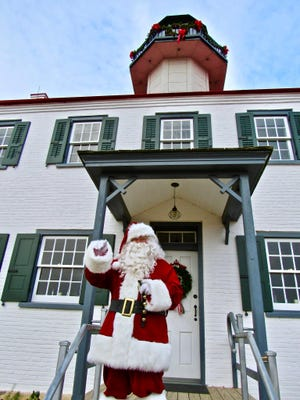 Santa will visit East Point Lighthouse from 4 to 6 p.m. Dec. 5 at 10 Lighthouse Road in Heislerville.