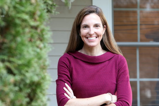 Dr. Jen Buchwald, a clinical psychologist at Hudson Valley Center for Cognitive Therapy at home in White Plains Dec. 2, 2020.