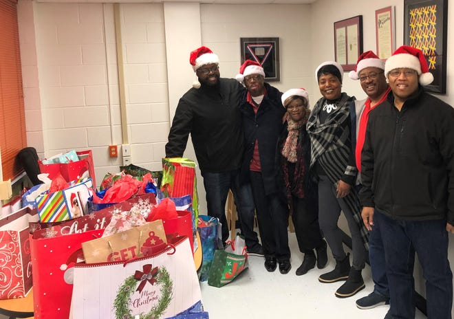 Church members were preparing to deliver Christmas gifts to Hirschi High School students last year as part of the New Jerusalem Baptist Church Angel Tree Program. The need is greater this year amid the pandemic.