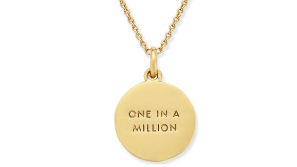 Buyers adored the top-quality design of this Kate Spade necklace.