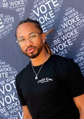 Spectacular Smith of Pretty Ricky poses at the Gen-Z Drive Up Voter Registration Event on Sept. 19, 2020, in Compton, California.