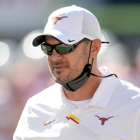 Tom Herman's overall record at Texas is 30-18, which may not be enough to buy him another year as head coach.
