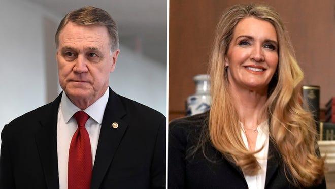 Republican Sens. David Perdue and Kelly Loeffler of Georgia