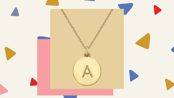 This gorgeous Kate Spade necklace is guaranteed to make any giftee glee.