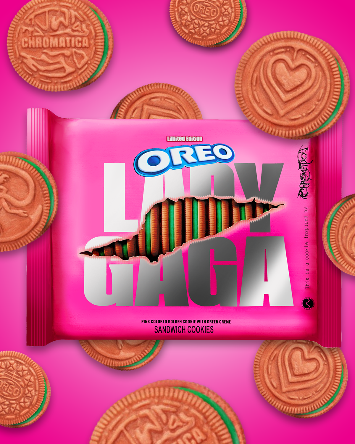 Oreo is launching Lady Gaga themed cookies. Here s when you can get them
