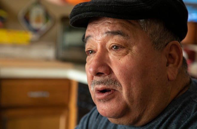 Nelson Toala talks about how he and his wife moved from Ecuador to the United States in 2006. He always has been a support for his family including caring for two granddaughters while their parents still live in Ecuador. During the pandemic, he was furloughed from the Driskill Hotel and then had a stroke.