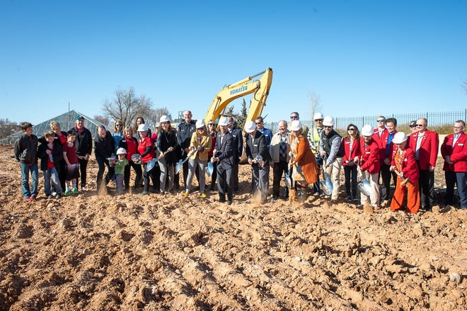 Officials broke ground on the new facility for The Ronald McDonald House of Amarillo earlier this year. The nonprofit organization was one of many who participated in this year's The Panhandle Gives campaign.