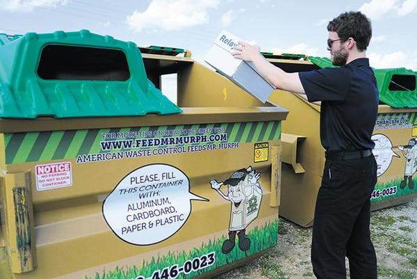 The Replenysh program will pose an alternative to the previous process of community members delivering recyclables to the City Recycling Center, which sent the materials to the Tulsa Recycling Center.