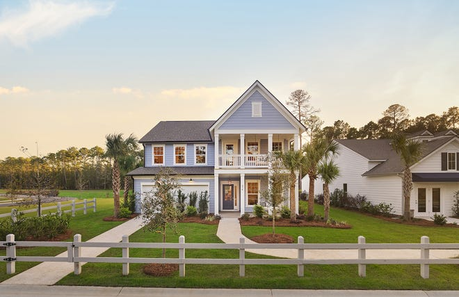 """An example of Malind Bluff's """"Continental model."""" The gated community whose development has been 12 years in the making is ready to begin selling lots off Okatie Highway."""