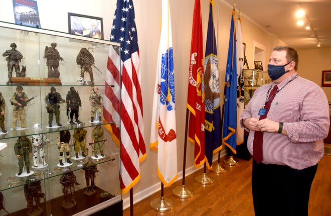 Keith Glindemann, senior director of military and veterans services at the Ousley Family Veterans Service Center, talks about how the new McGee House will provide support to Columbia College students with military connections.