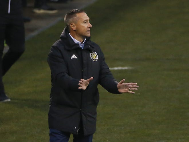 Crew coach Caleb Porter said the team seems to have overcome a COVID-19 outbreak.