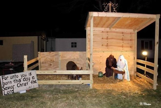 """""""God Sent a Savior,""""a live, drive-thru diorama, will take place from 6 to 8 p.m., on Dec.11-12, at the Stop 9 Church, located at 60330 Southgate Road,Byesville.Social distancing will be observed."""