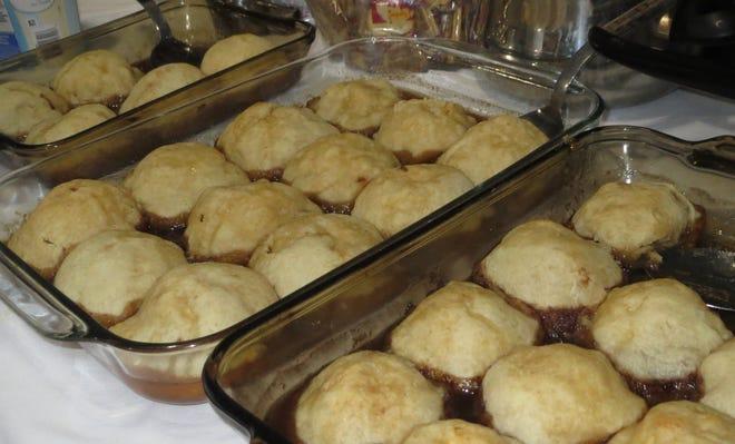 Gloria Yoder's apple dumplings