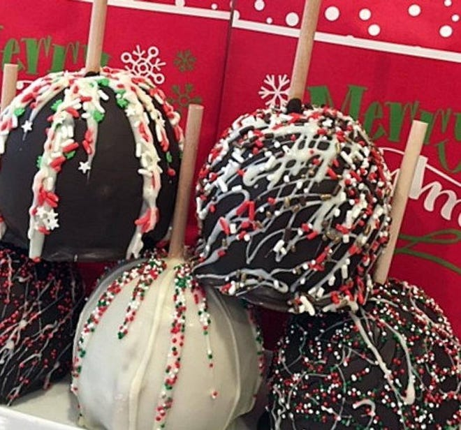 The Fall River Scholarship Foundation's Christmas Arts and Crafts Fair is on Facebook this year. Items like these festive cake pops are for sale on the site.