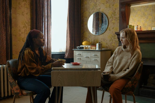 """Marsha Stephanie Blake, left, and Rachel Brosnahan appear in a scene from the film """"I'm Your Woman."""""""