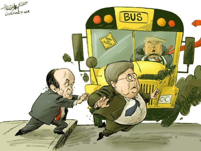 Today's editorial cartoon (Dec. 5, 2020)