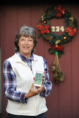 Mary Sullivan plans to learn how to use ZOOM from a program from the Callahan Center.