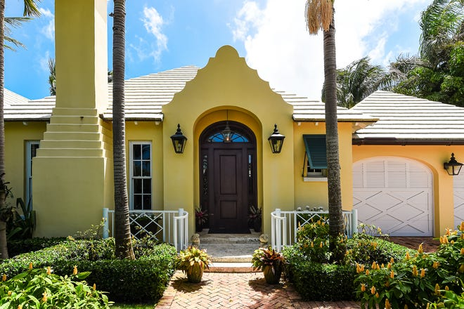 A five-bedroom Bermuda-style house at 208 W. Indies Drive recently sold for a recorded $7.2 million, courthouse records show.