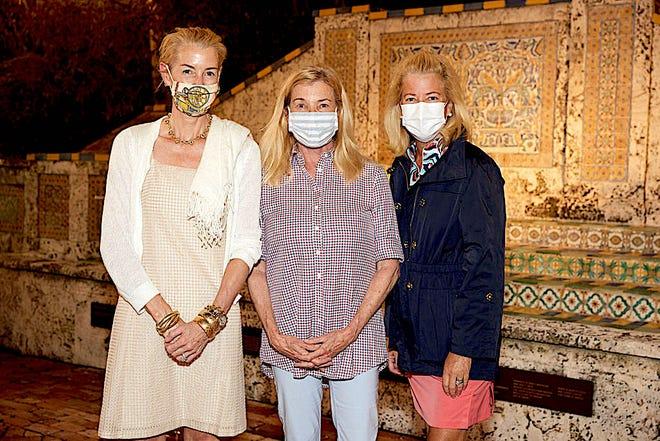 Betsy Shiverick, Pauline PItt and Pamela Williams