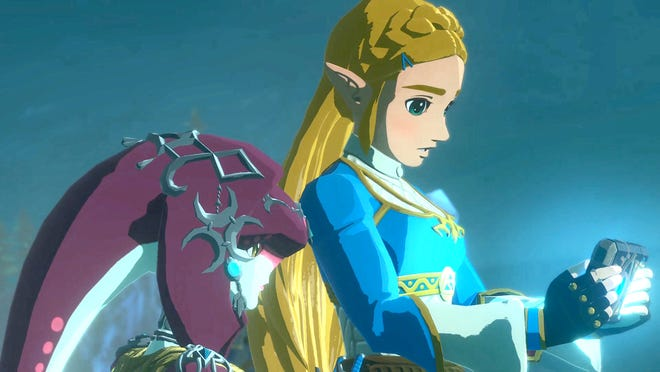 "Mipha and Zelda have a shared bond as they venture together with Link and the others in ""Hyrule Warriors: Age of Calamity."""