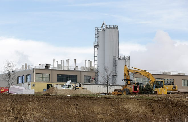 The Shearer's Foods manufacturing and distribution center on Millennium Boulevard SE, Massillon, is undergoing a 41,000 square-foot expansion. Construction began in October and is expected to run into early 2021.