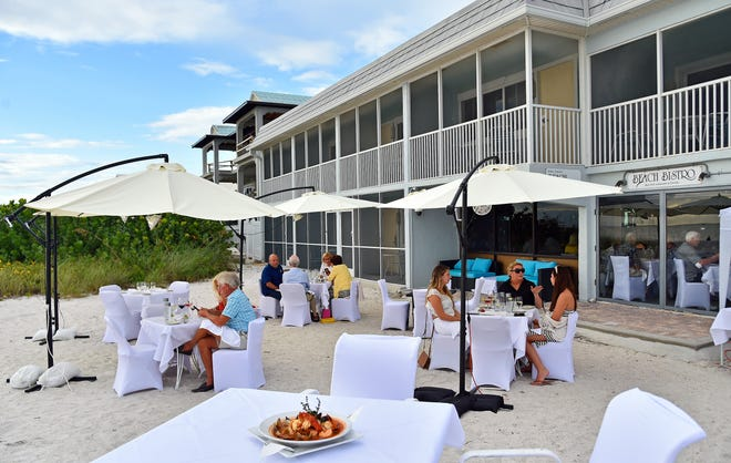 The Bistro Bouillabaisse is one of the most popular dishes at Beach Bistro on Anna Maria Island, along the Gulf of Mexico, just south of Tampa Bay.