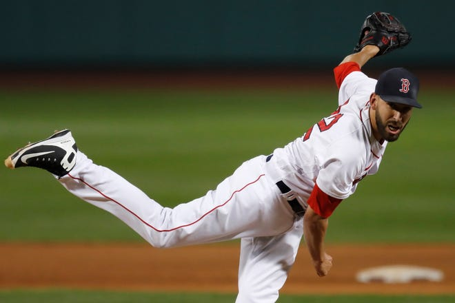Boston Matt Barnes was among a group of players the Red Sox agreed to deals with on Wednesday.