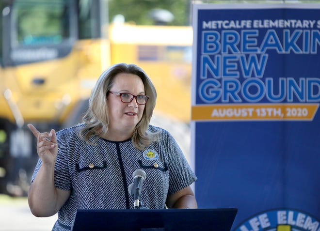 Karen Clarke, former superintendent of Alachua County Public Schools. School Board members have submitted their nominations to replace Clarke, whose resignation voted to take effect immediately on Monday. [Brad McClenny/The Gainesville Sun]