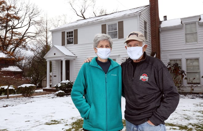 Melissa and Jack Conrath were the 2018 winners of Worthington's Good Neighbor Award. Nominations for the 2020 Good Neighbor Award are open through Dec. 31.