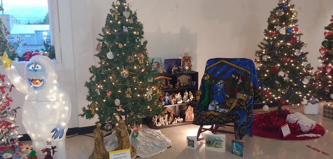 The Wall club hosts its second annual Land O'Christmas event, where various themed trees are on display