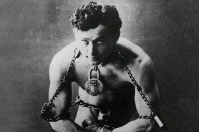 Harry Houdini has alleged  ties to Worcester.