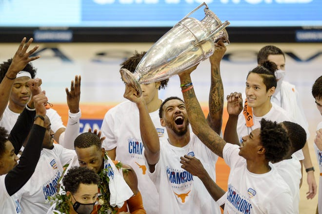 Texas won the Maui Invitational championship game against UNC December 2, 2020 in Asheville.