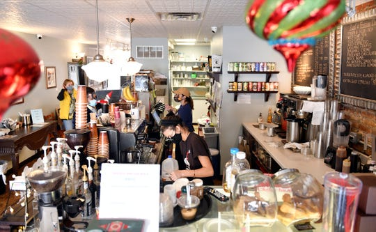 Casciano Coffee Bar & Sweetery sits in downtown Hammonton.