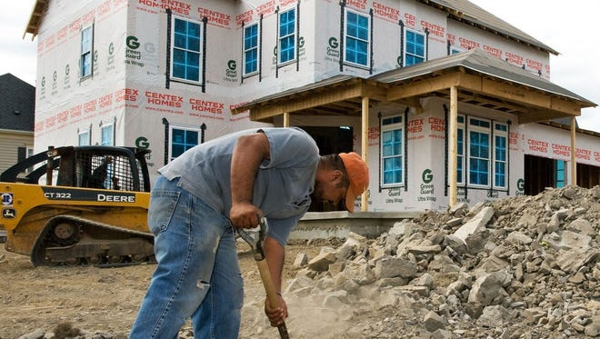 Homebuilders in Cincinnati have seen a sharp uptick in business since a lull earlier this year due to the Covid-19 crisis