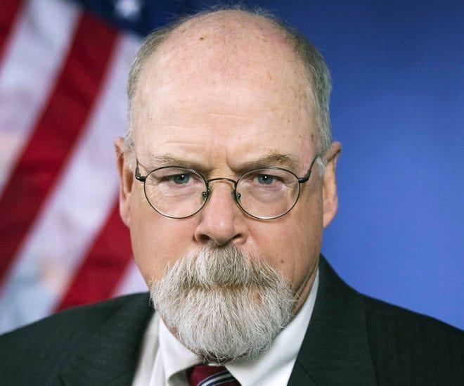 Potret tahun 2018 yang dirilis oleh Departemen Kehakiman AS ini menunjukkan Pengacara AS dari Connecticut, John Durham.
