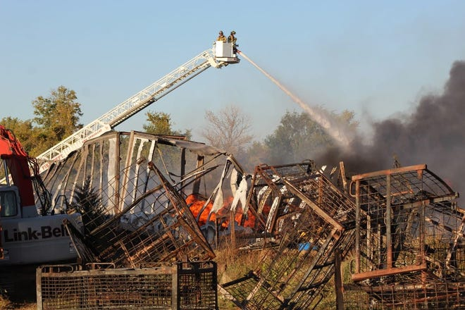 Investigators with the Ohio State Fire Marshal's office have ruled the cause of an Oct. 7 fire at Keegan Enterprises inconclusive.