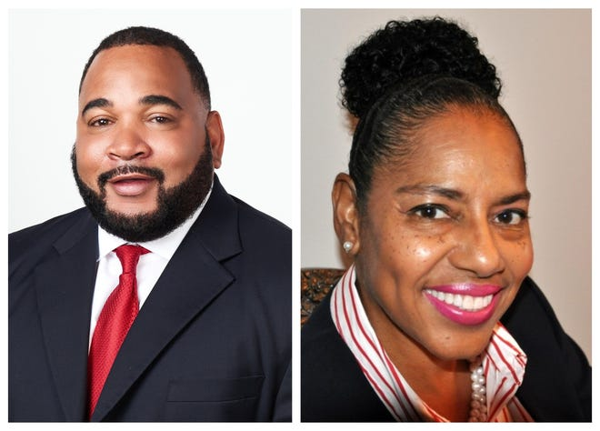 Assistant District Attorney Royale Colbert, left, and Assistant Attorney General Amanda Martin are running to be the 15th Judicial District's next Division D judge.