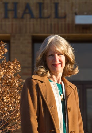 Howell Clerk Jane Cartwright, shown Thursday, Dec. 3, 2020 outside of City Hall, will retire after 16 years of service.