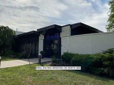 A former sleep wellness center is being converted into an outpatient cataract surgery center.