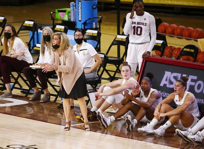 ASU women's basketball opens Pac-12 play at home against USC on Friday. The Sun Devils are off to a 3-0 start with one of the youngest teams in the conference.