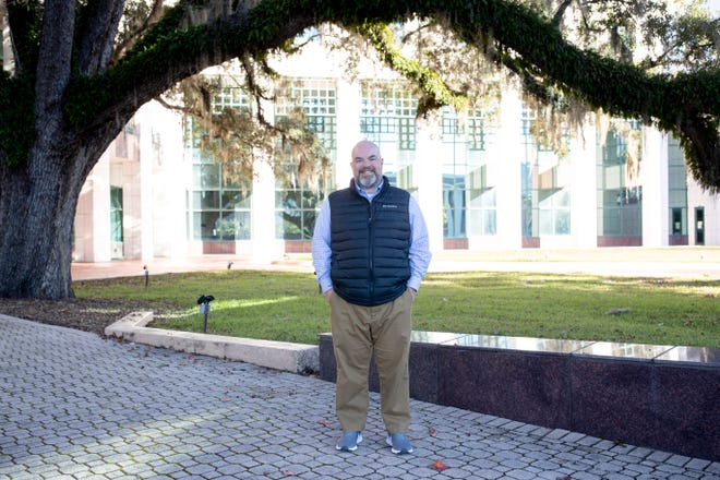 County Commissioner Brian Welch at the Leon County Courthouse Tuesday, Dec. 2, 2020.