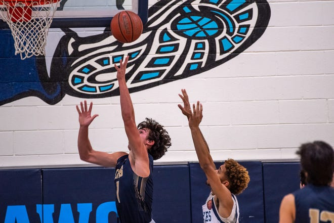 The Chapin Huskies pull off an impressive win at home, defeating the visiting Coronado Thunderbirds 76-38 in varsity boys basketball at Chapin high School in Northeast El Paso on Dec. 2, 2020.